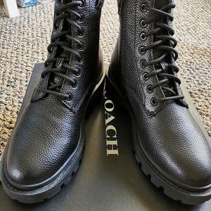 Brand new Coach men boots